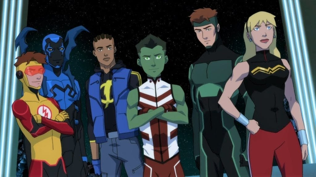 The Young Justice :Outsiders Team