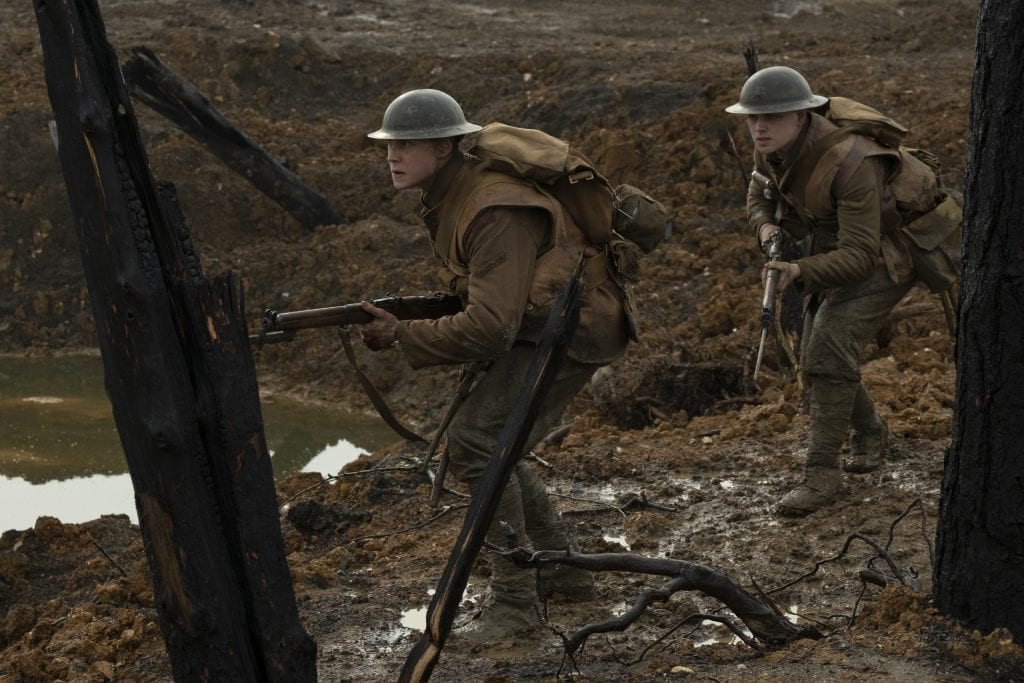 Lance Cpl Schofield and  Blake  (1917 Movie Review)