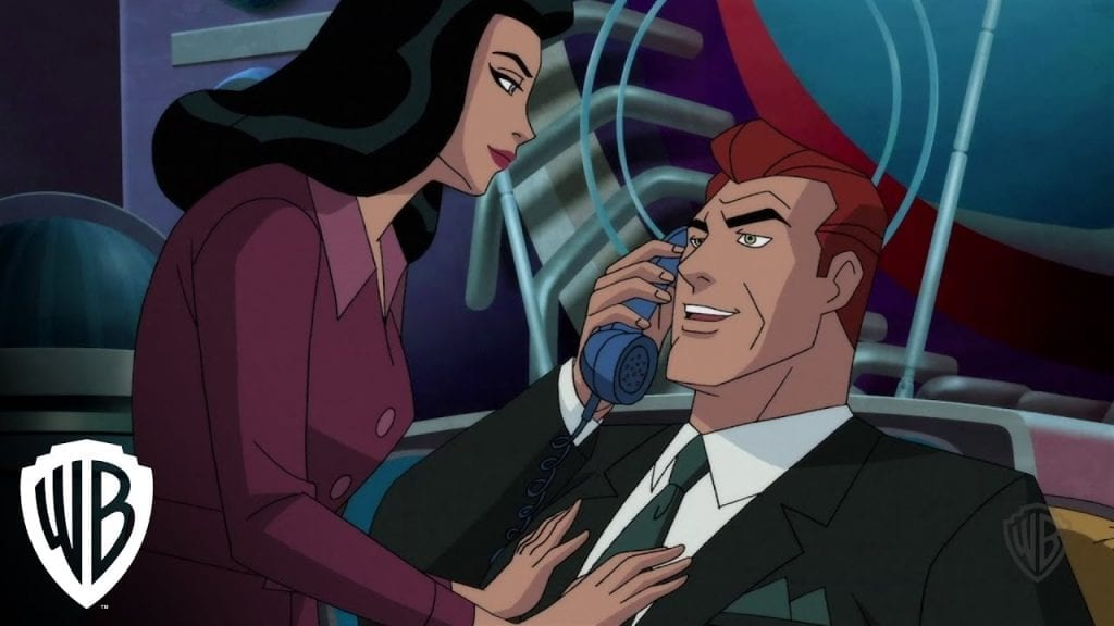 Lois Lane and her Husband Lex Luthor.