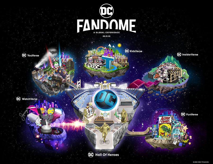 DC Fandome (What New Movies to Watch August)