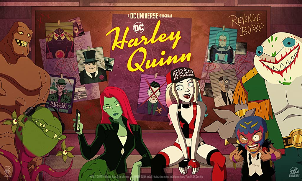 Harley Quinn The Animated Series (The Best Animated Movies and Shows of 2020)