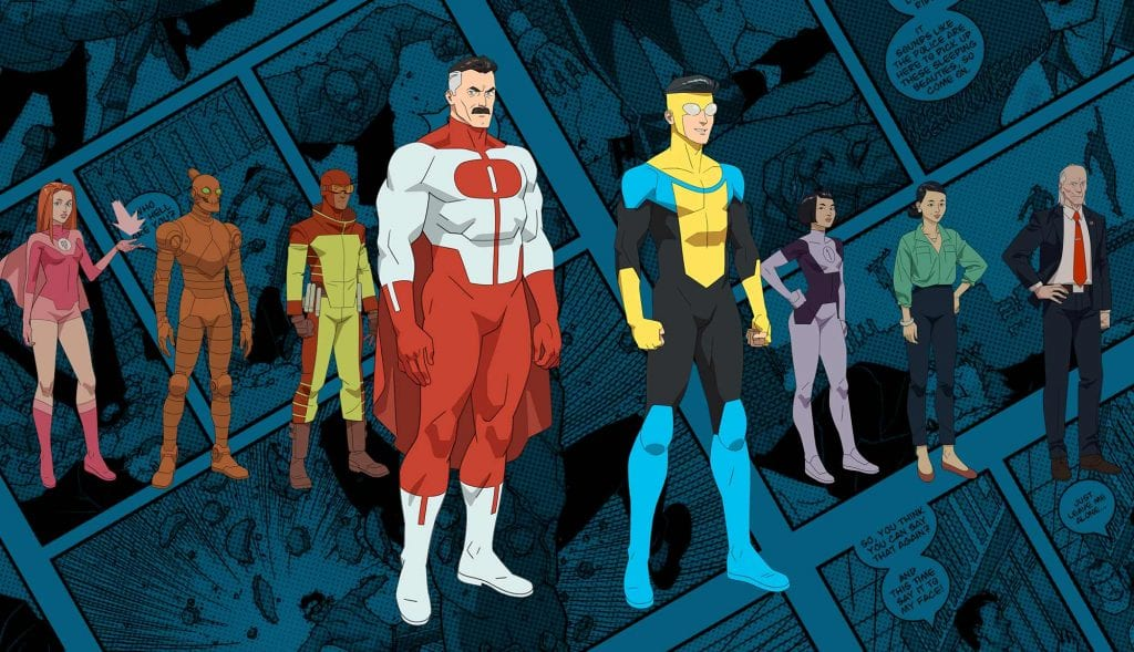 The Characters of The Invincible Animated Series (Amazon Prime's Invincible)