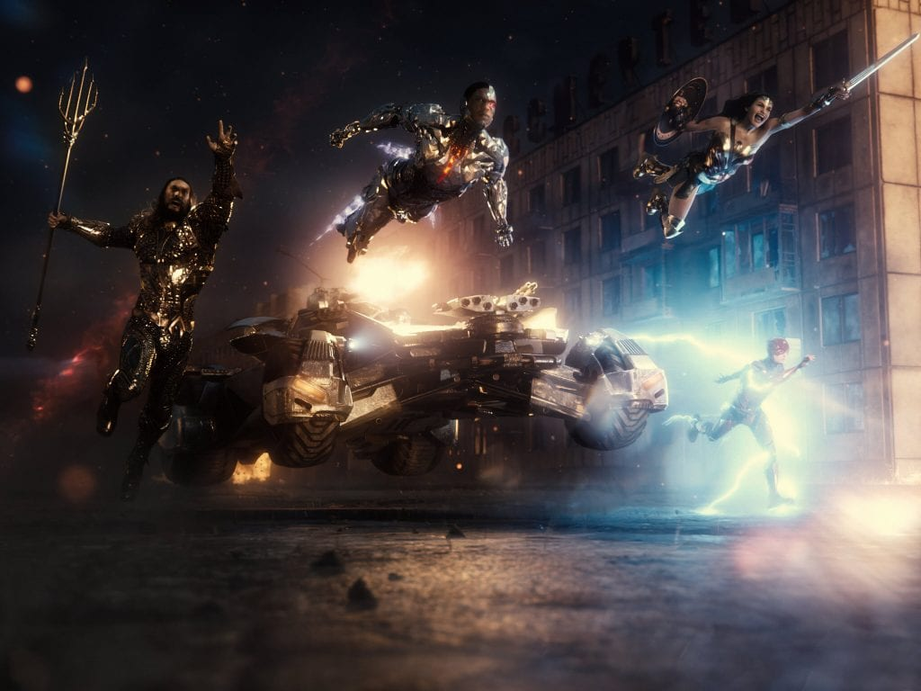 The Justice League- The Snyder Cut